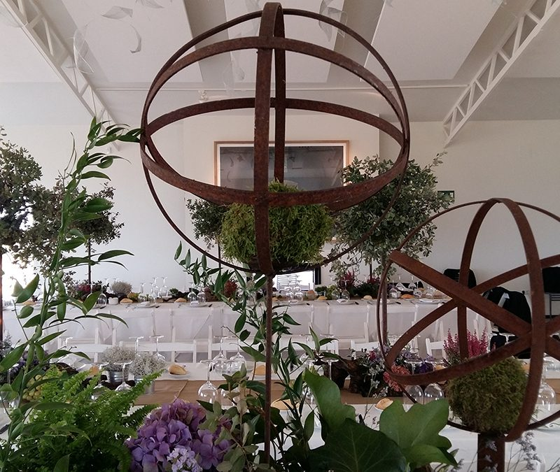 eventos-sociales-mesa-centro-escultura