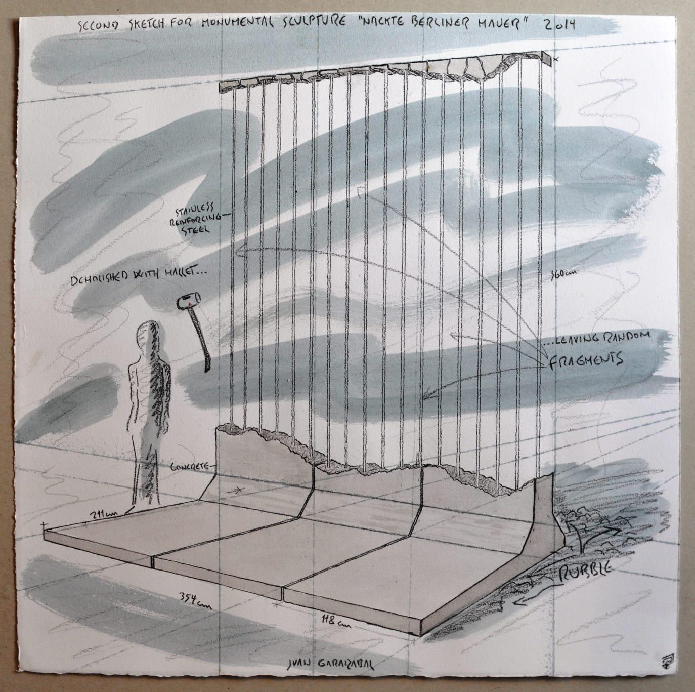 muro-de-berlin-juan-garaizabal-boceto